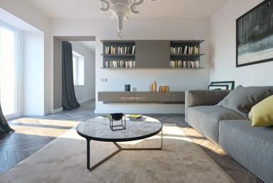 Quadrilocale con terrazzo angolare tre camere soggiorno due bagni quinto piano classe A+