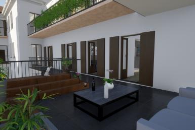 Appartamento a Casa Velò in ristrutturazione in Via xx Settembre 41 con due terrazzi in classe A+